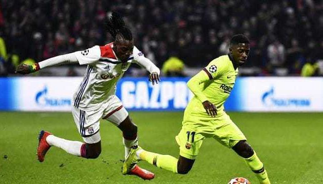 Lyon s'en tire bien face à Barcelone (les notes du match)