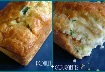 La base du cake inratable & sa version aromatisée courgettes/poulet