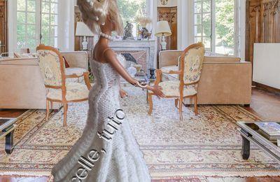 tuto gratuit Barbie  : Barbie  mariée  au château