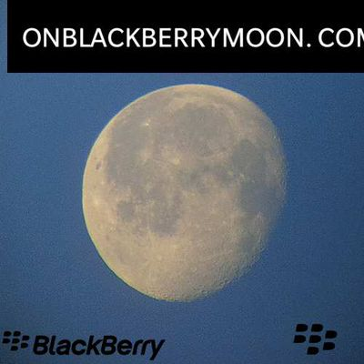 On BlackBerry Moon