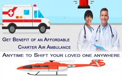 Vedanta Air Ambulance in Ranchi- Full Life Support Is Given To Patient