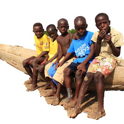 Enfants d'ELOUBALINE