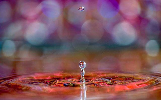 Cliquez sur l'image et vous verrez des Gouttes d'eau...