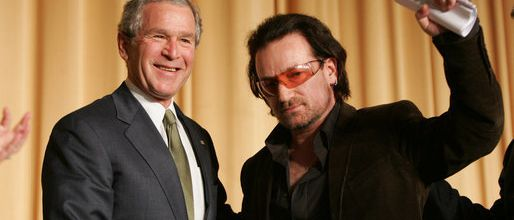 Bono - National Prayer Breakfast -Washington DC -02/02/2006