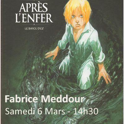 Dédicace BD avec Fabrice Meddour