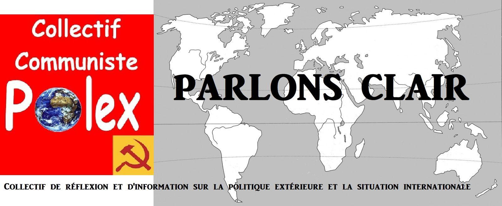 PARLONS CLAIR (Collectif communiste Polex) de novembre 2020 : sommaire et  articles - Action communiste