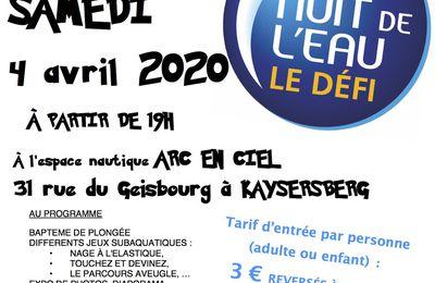 NUIT DE L'EAU 2020