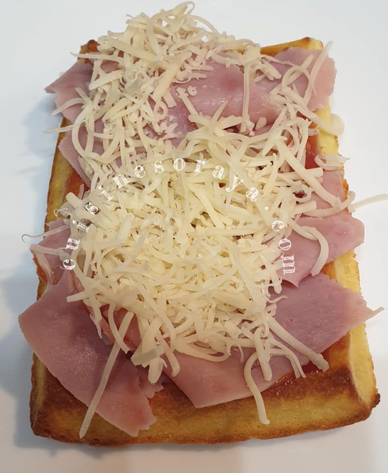 Gaufres fromage au four - En burger ou en pizza