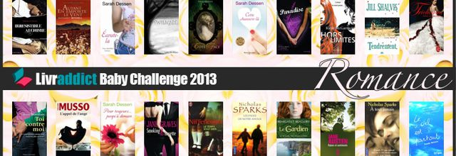 [En Cours] Baby Challenge Livraddict : Romance !