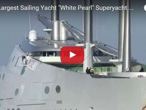 "World Largest Sailing Yacht ""White Pearl"""