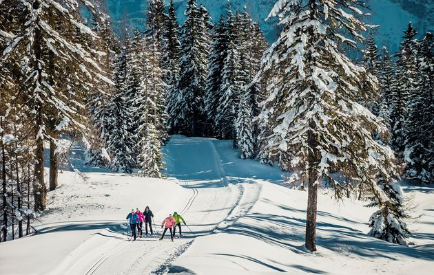 ITALY: Breathes clean air and skiing on the alpine slopes of Cortina Ampezzo