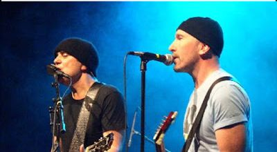The Edge et Daniel Lanois -Henry Fonda Theatre - Los Angeles -05/06/2003