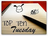 Top Ten Tuesday n° 21