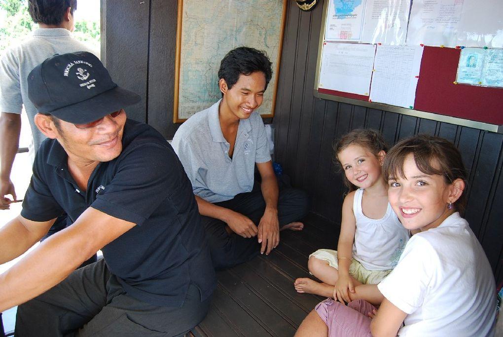 Croisière sur le Tonlé sap à bord du Phoceamekong