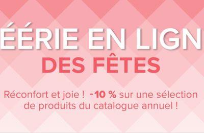 "Promo ""Féérie en ligne"" des fêtes"