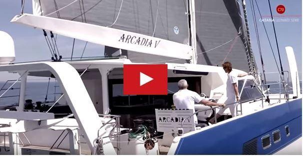 VIDEO - 2.21 minutes de bonheur à bord d'un Catana 70