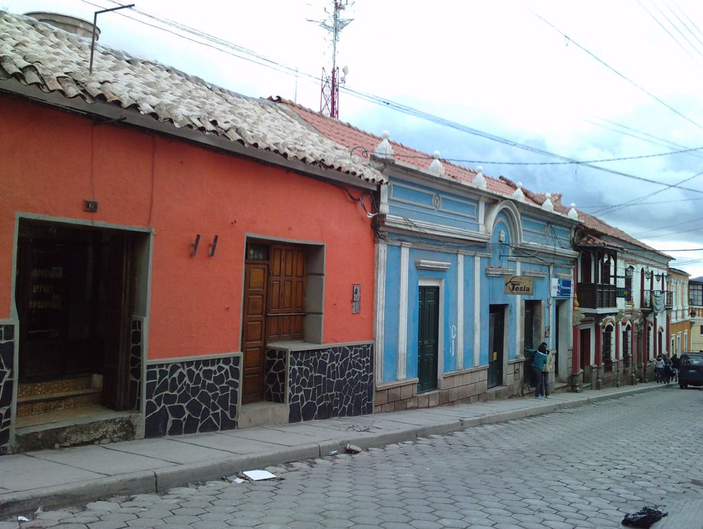 ville et environs de Potosi en Bolivie- février 2011