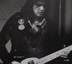 eddie callahan, un guitariste et singer songwriter auteur d'un one shot connu des spéléonautes de l'underground