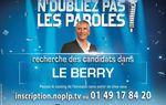 Recherche candidats dans le Berry