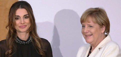 La Regina Rania di Giordania  riceve Il Premio Walther Rathenau