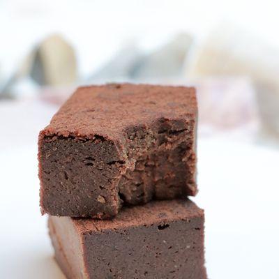 Fondant au chocolat à la patate douce (sans gluten, vegan, sans sucre raffiné)
