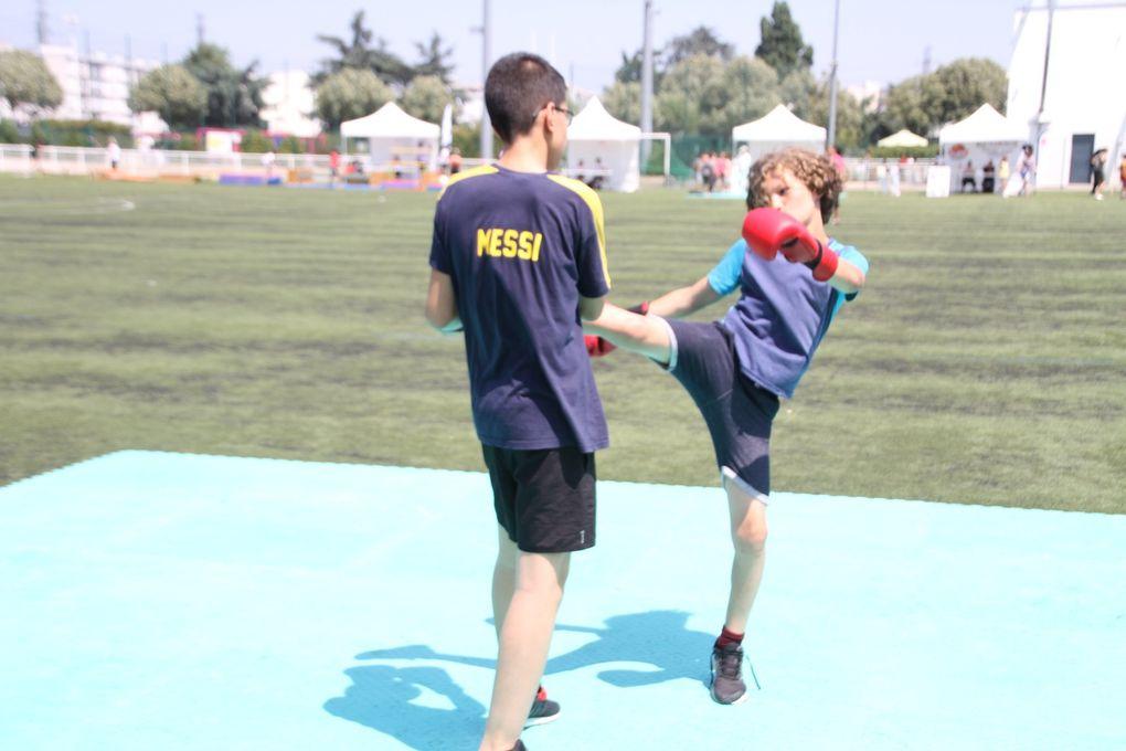 La  8ème Fête du sport a accueilli entre 1200 et 1400 jeunes et moins jeunes