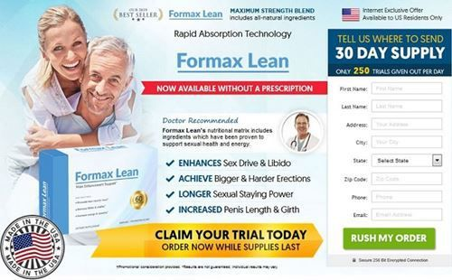 Formax Lean Male Enhancement:-A natural and herbal step towards male enhancement