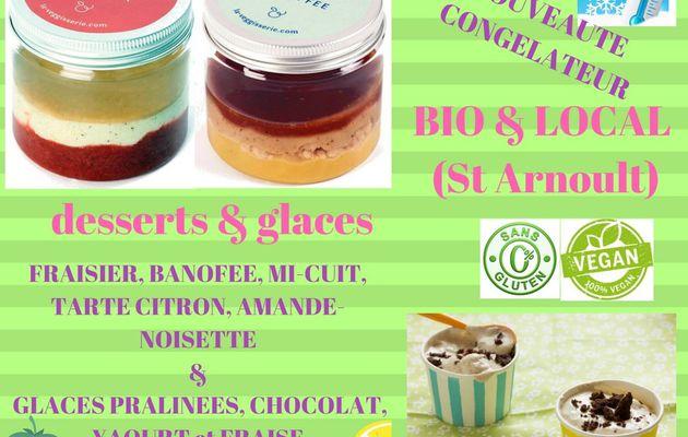 """DESSERTS et GLACES """"bio & local"""" : NOUVEAUTE AUX ROBINS"""