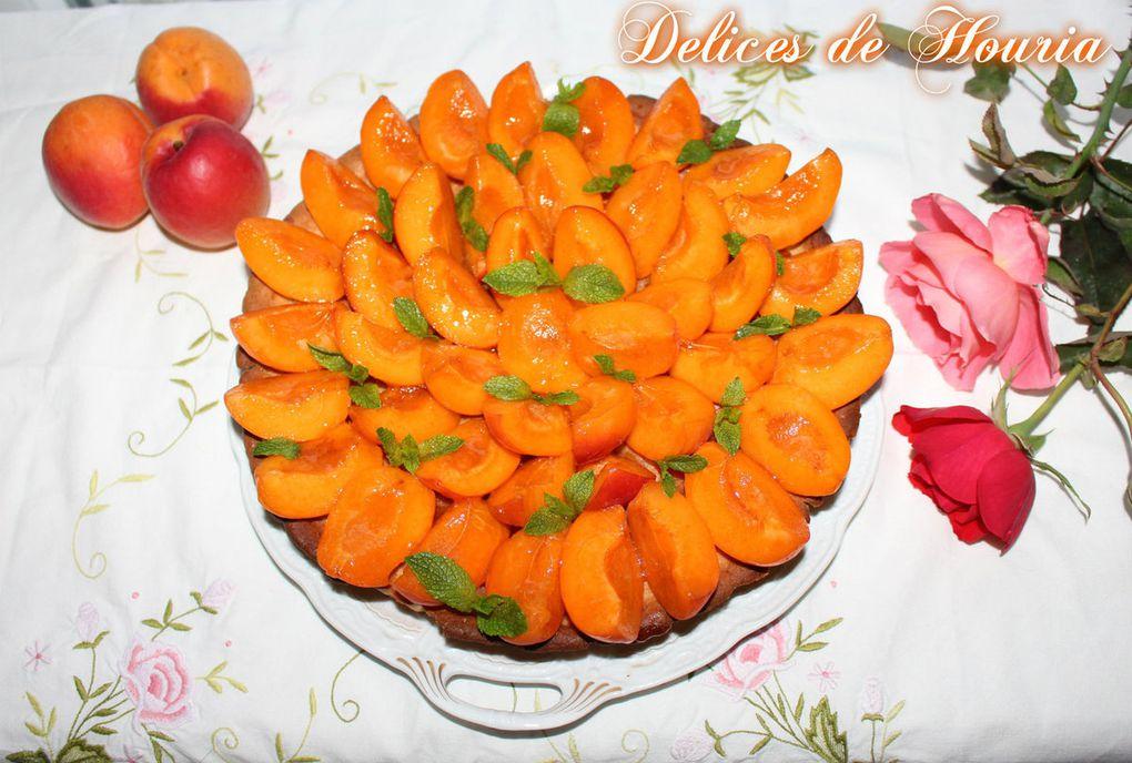 Tarte abricot-crème d'amande