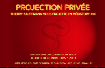 MS4 Présentation de MédiStory 4 le Jeudi 17 Décembre 2015 .. à Dinan...