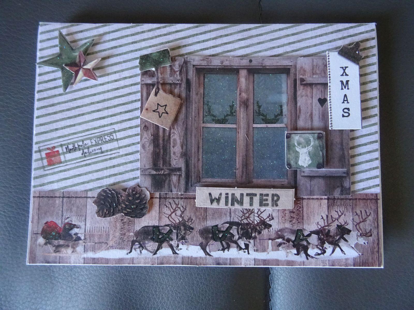 nouvelle serie de cartes de fin d'année