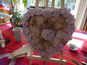 Des fleurs pour un coeur romantique