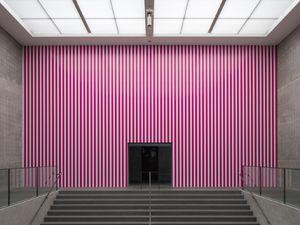 """""""Jamais deux fois la même"""" et """"Fruits de la passion"""" (exposition Daniel Buren au Centre Pompidou)"""