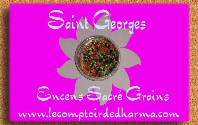 Saint Georges Encens Sacré grains