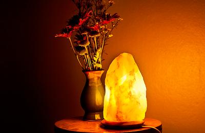 10 increíbles beneficios de las lámparas de sal