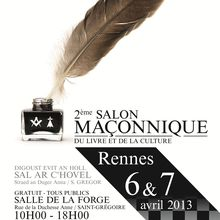 2e Salon Maçonnique du Livre et de la Culture de Rennes