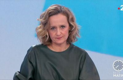 Caroline Roux Les 4 Vérités France 2 le 10.02.2021