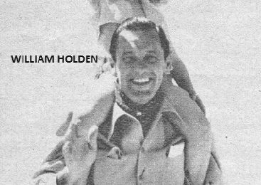 WILLIAM HOLDEN ET BRIGITTE FOSSEY