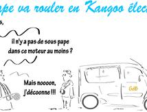 Le pape va rouler en Kangoo électrique