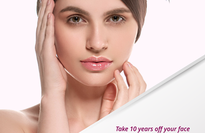 Youthful Appearance and Plump Facial Skin by Facelift Surgery