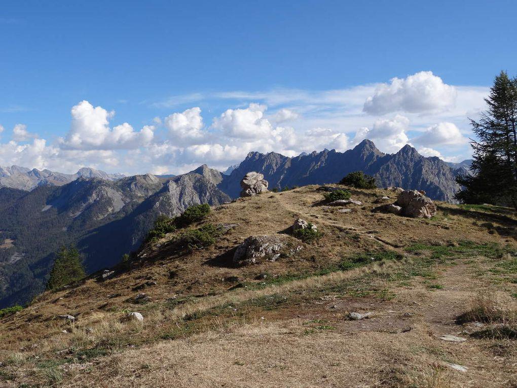 """Queyras VTT Col de Furfande FFC noir """"VTOPO parcours  V4"""" (02/09/2016)."""