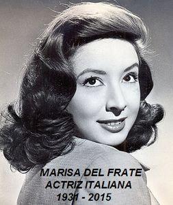 84 años del natalicio de la cantante italiana Marisa del Frate