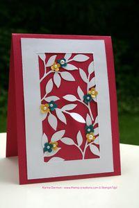 Carte « Rameaux d'olivier »