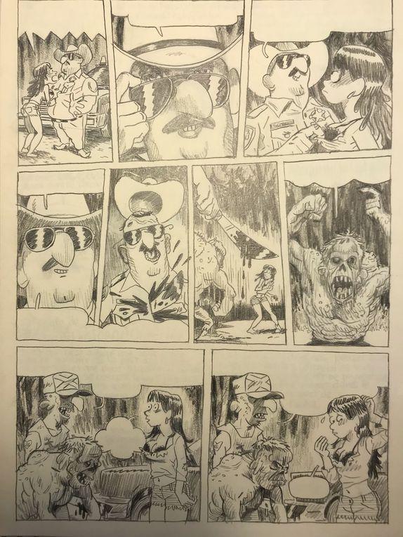 exemples de pages CineRamdam dispos ( crayon 2B ) ed. Fluide Glacial