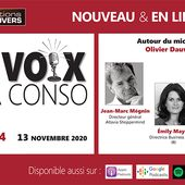 """Podcast """"LES VOIX DE LA CONSO"""" - 4ème épisode"""