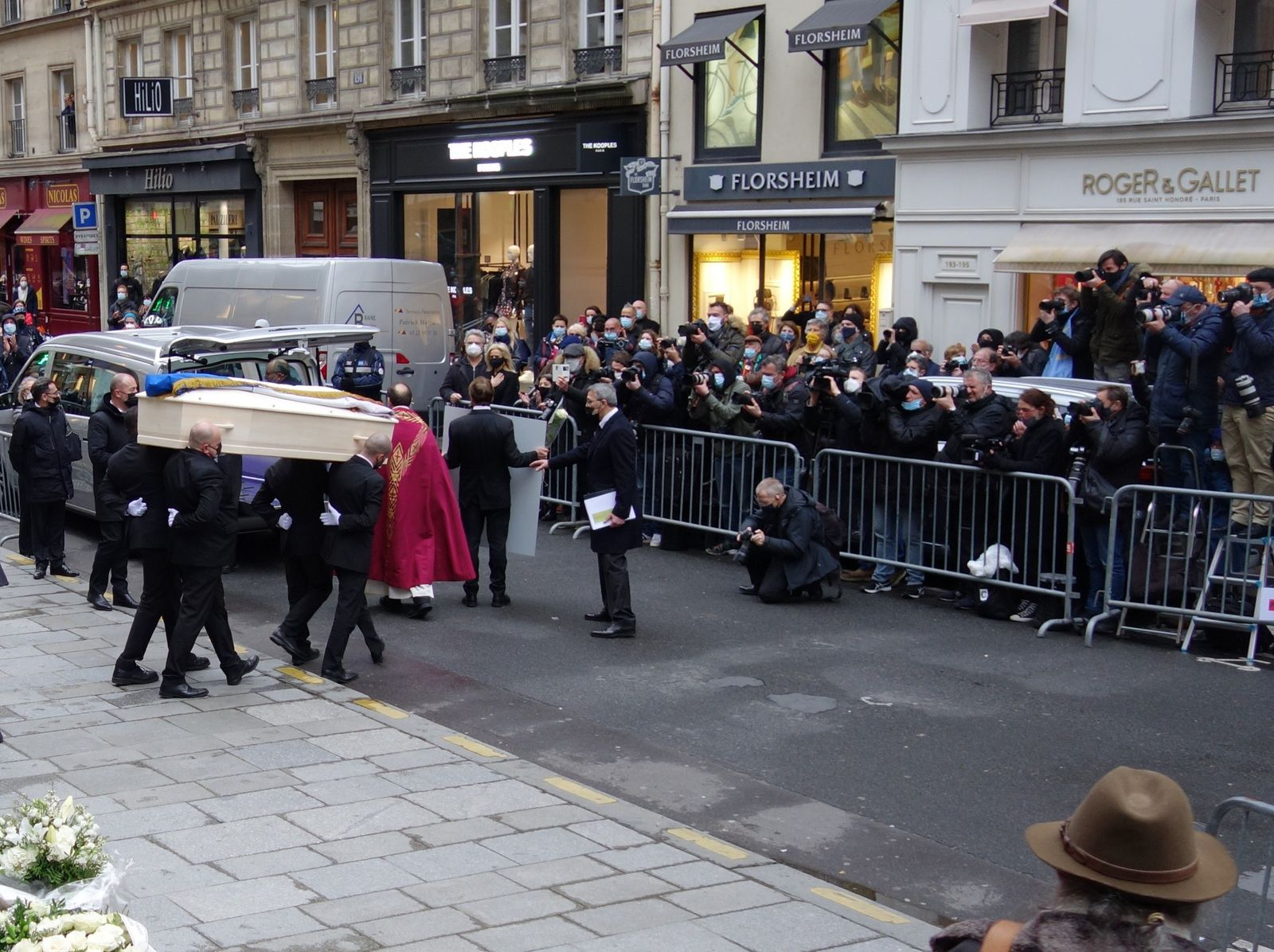 PATRICK DUPOND SES OBSEQUES A L'EGLISE SAINT-ROCH A PARIS (11/03/2021)