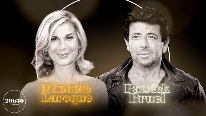 """Michèle Laroque et Patrick Bruel invités de """"20h30 le dimanche"""" ce soir sur France 2"""