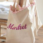 The cutest little market bags I ever did see... and other LMM makings.