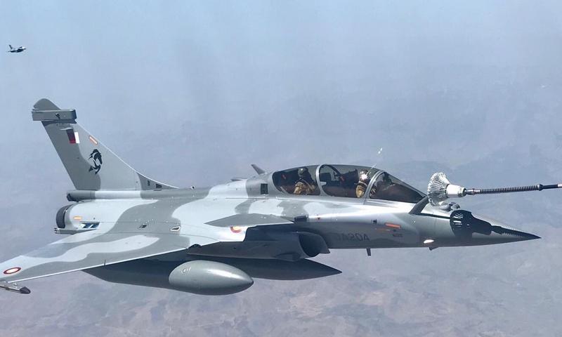 Les premiers Rafale EQ/DQ arrivent au Qatar