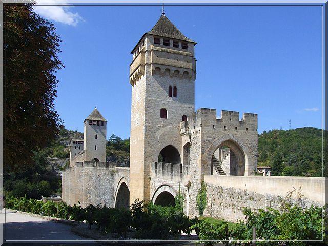 Diaporama pont fortifié Valentré - Cahors